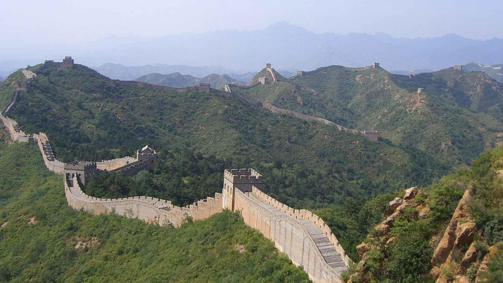 Muralla china en el Ibex 35