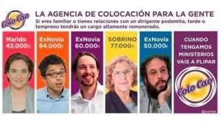 La agencia del colo-cao, tuiteada por Ignacio Aguado.
