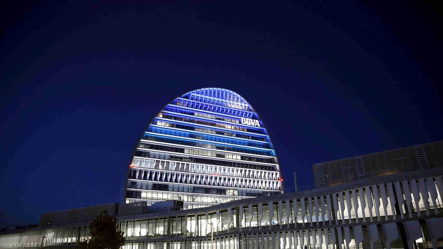 Sede del banco BBVA en Madrid