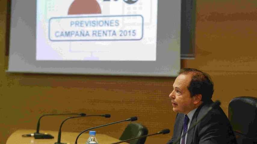 Rufino de la Rosa, director del Departamento de Gestión de la Agencia Tributaria