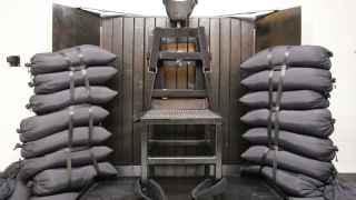 Así es una sala de ejecución en la prisión estatal de Utah (EEUU).