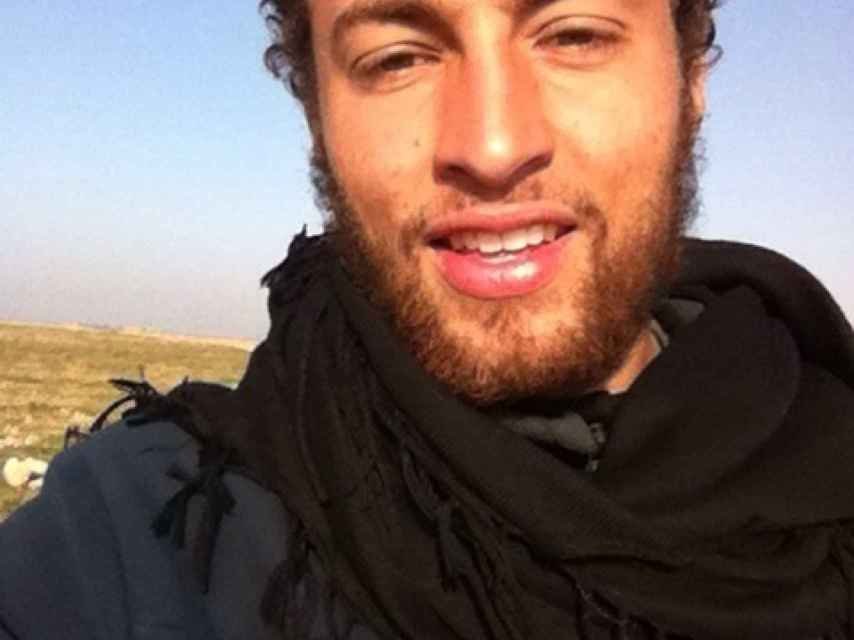Una de las fotos de Quentin en Siria.