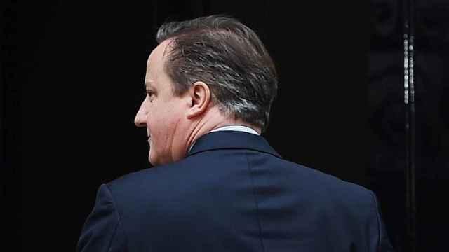 David Cameron, primer ministro del Reino Unido.