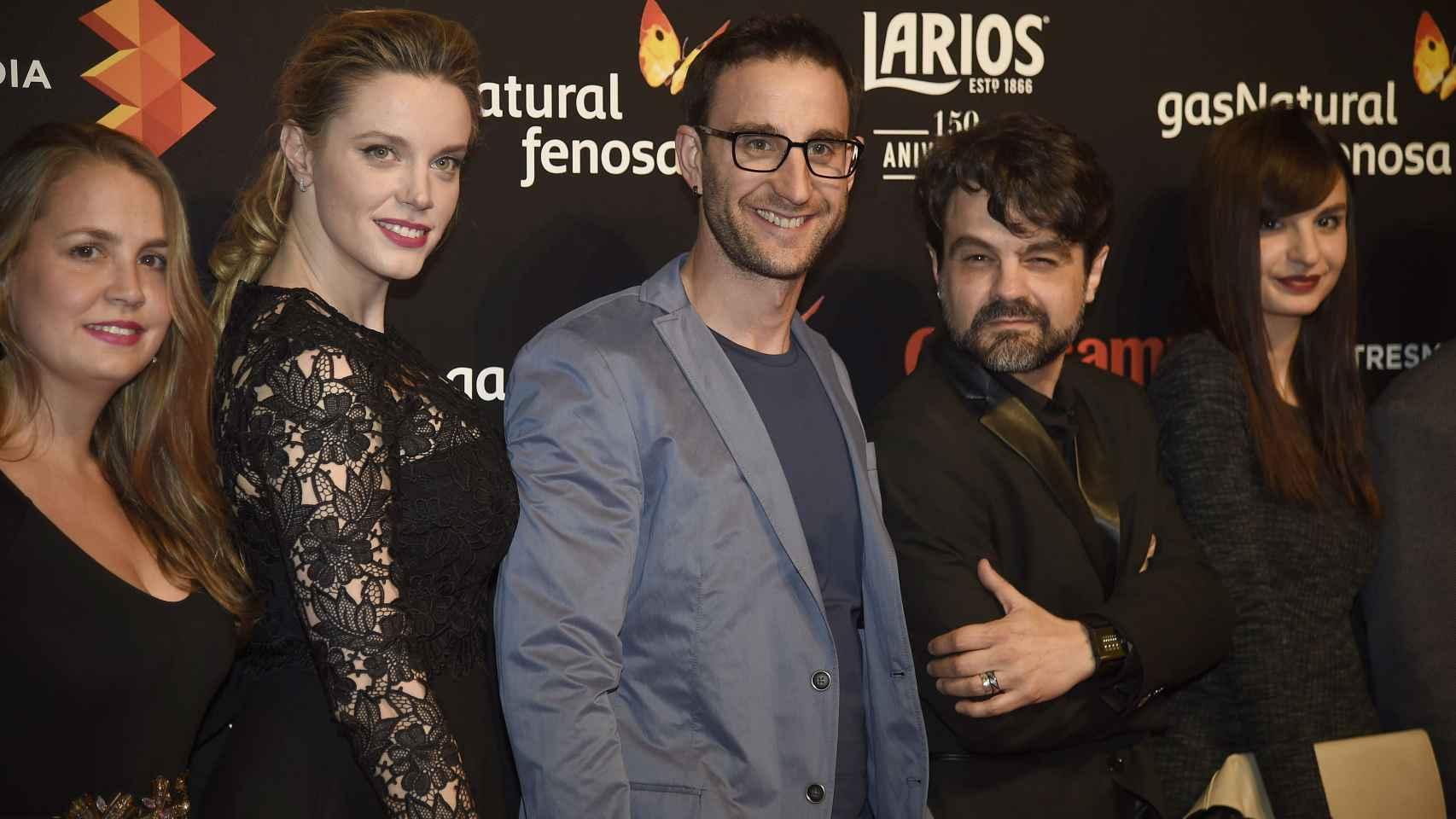 Los actores españoles no quisieron perderse la presentación del próximo Festival de Cine de Málaga