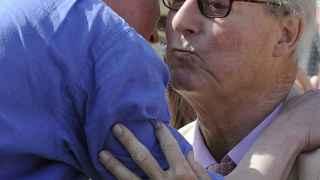 David Cameron y su padre, Ian Cameron.