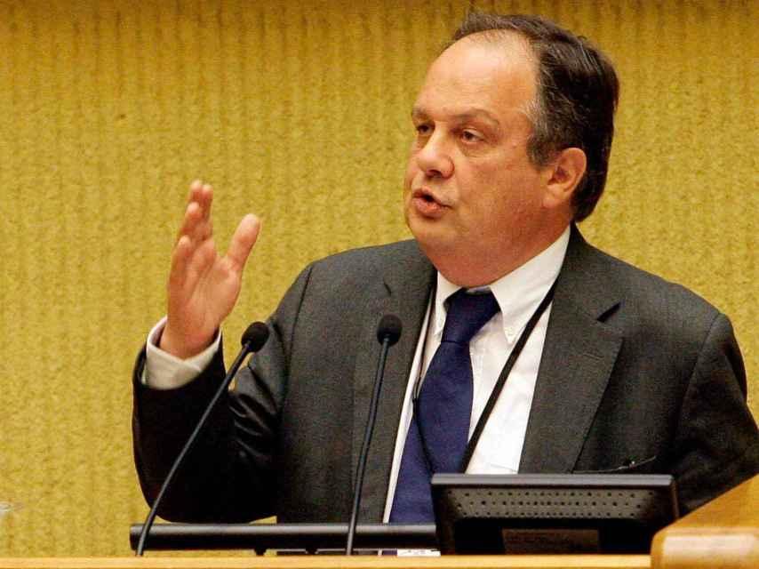 El ministro de Cultura portugués, João Soares