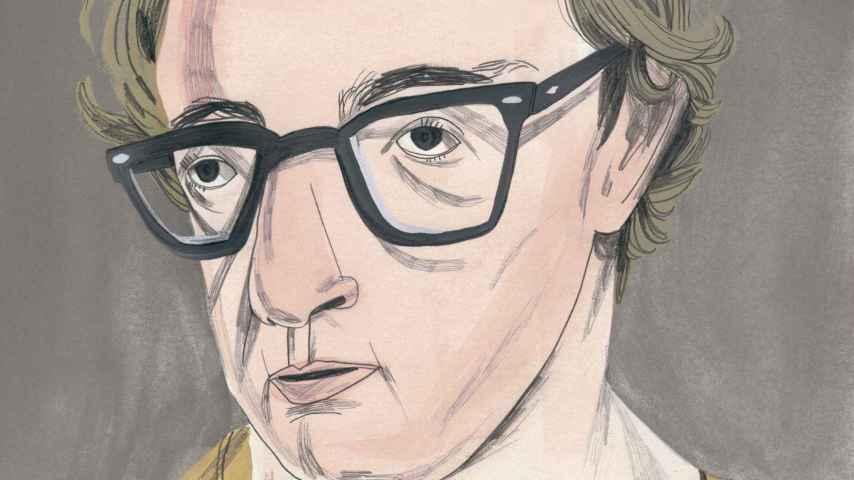Woody Allen por María Herreros en su nuevo libro sobre las leyendas de Hollywood.