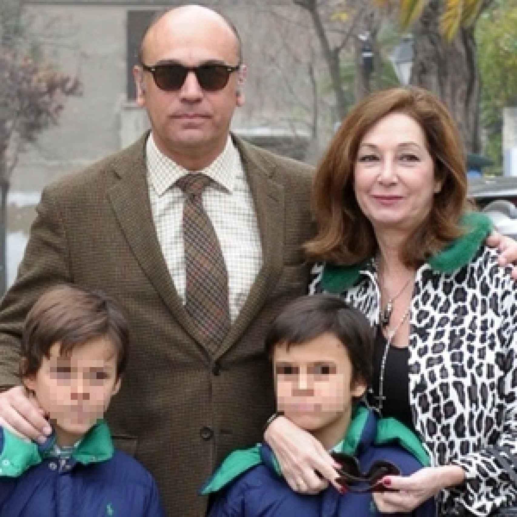 Ana Rosa Quintana celebró su 58 cumpleaños junto su familia