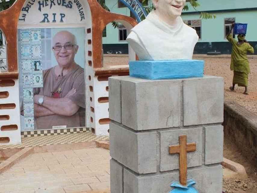 El monumento a la memoria de Manuel García Viejo