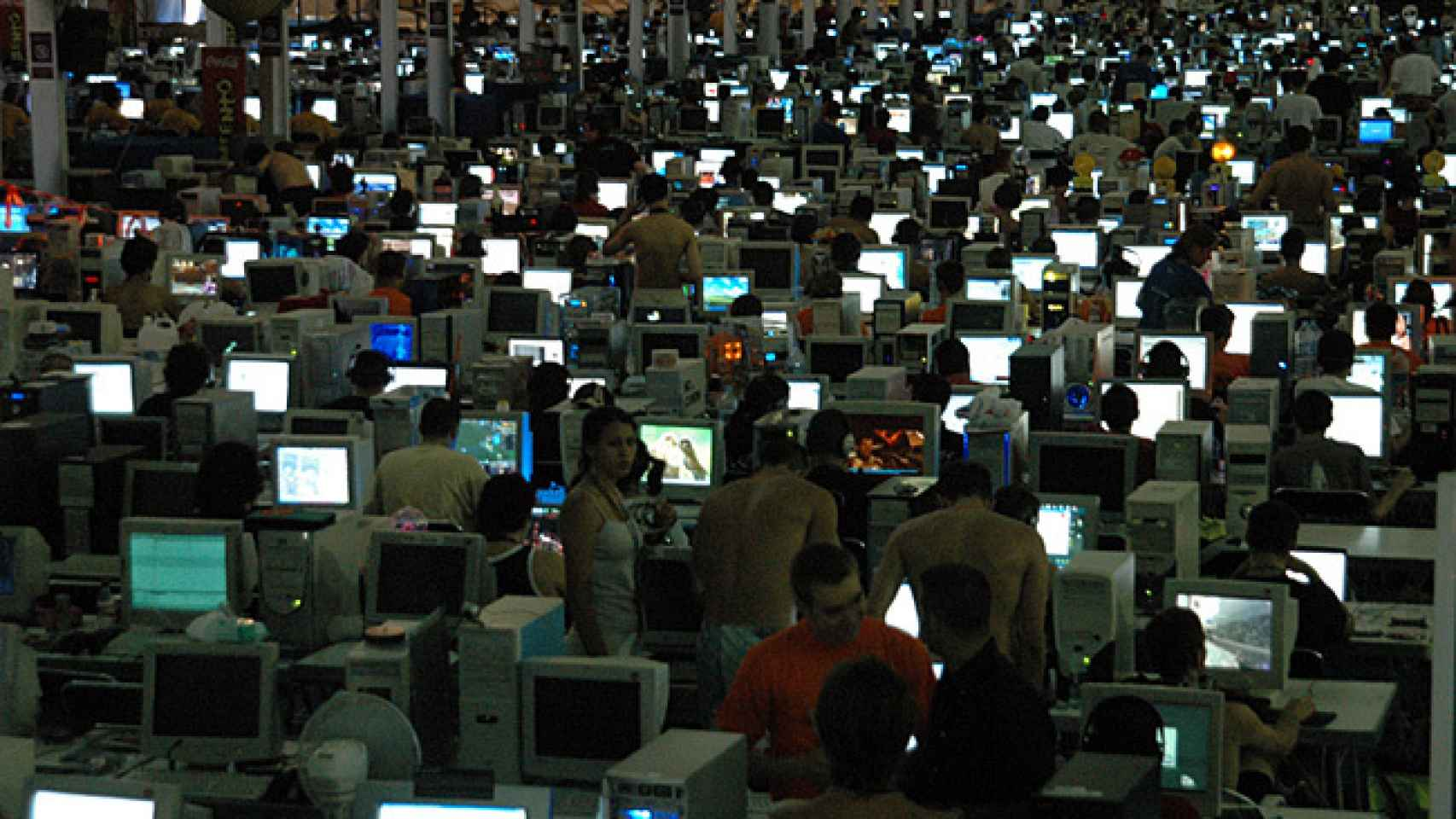 Una imagen de la Campus Party de Valencia.