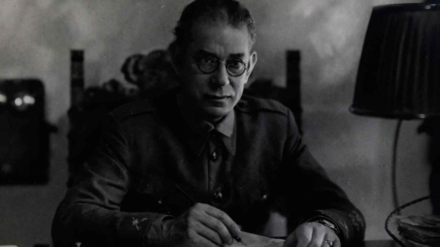 El general Mola en 1936
