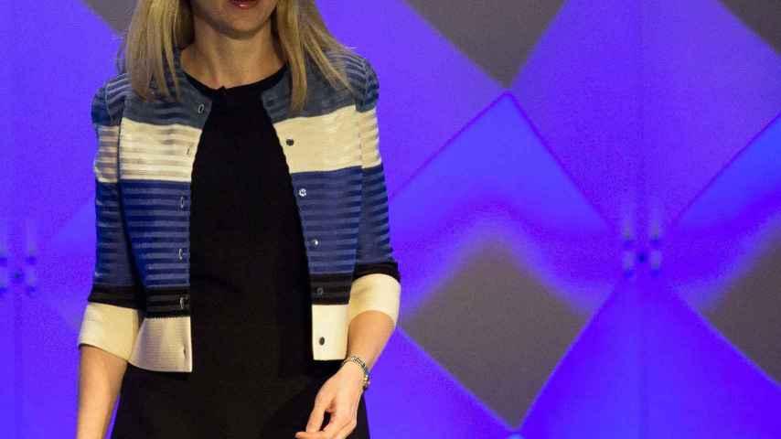La CEO de Yahoo, Marissa Mayer