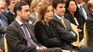 Los dos hijos de Mario Conde, detenidos este lunes.