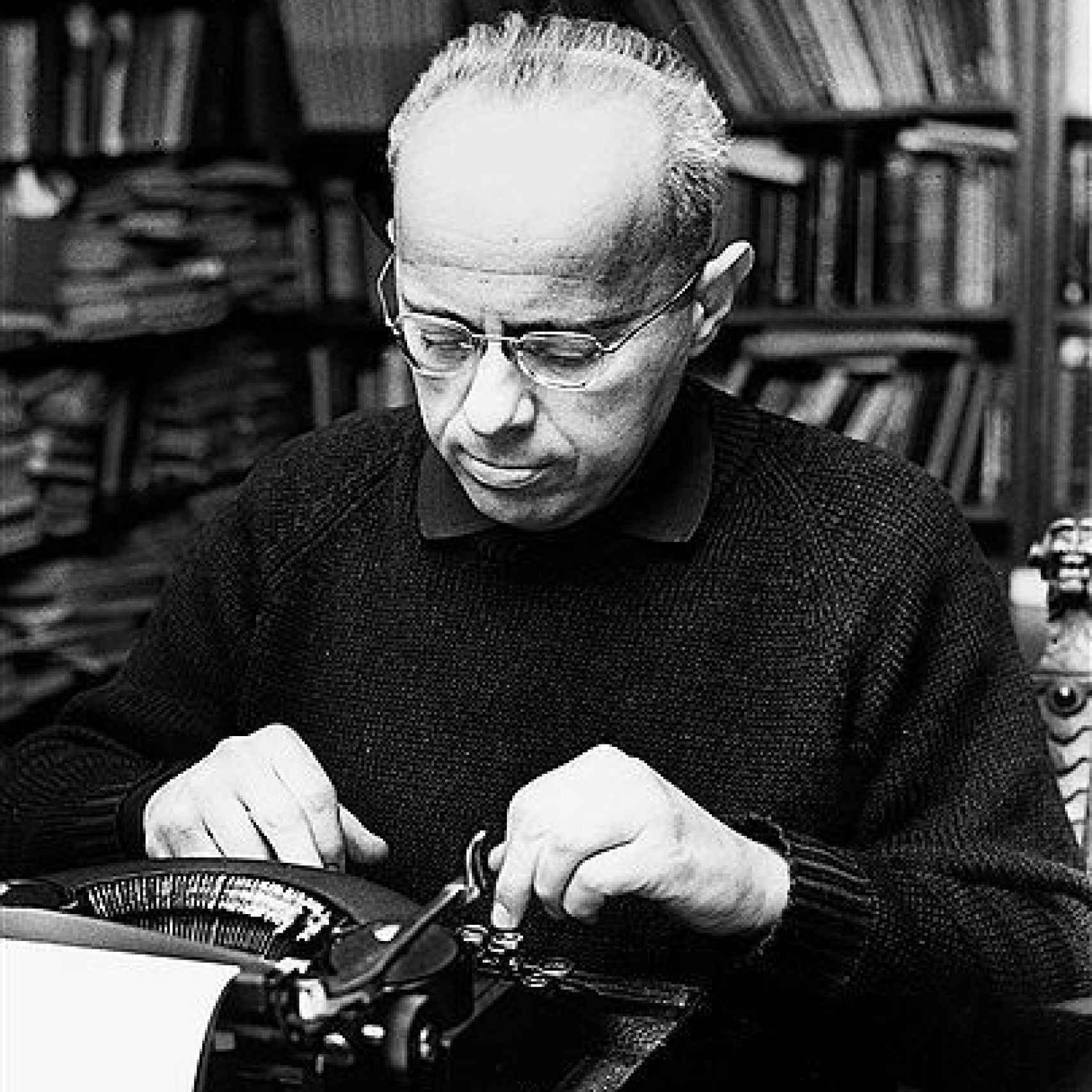 Stanislaw Lem, autor de Solaris y Astronautas.