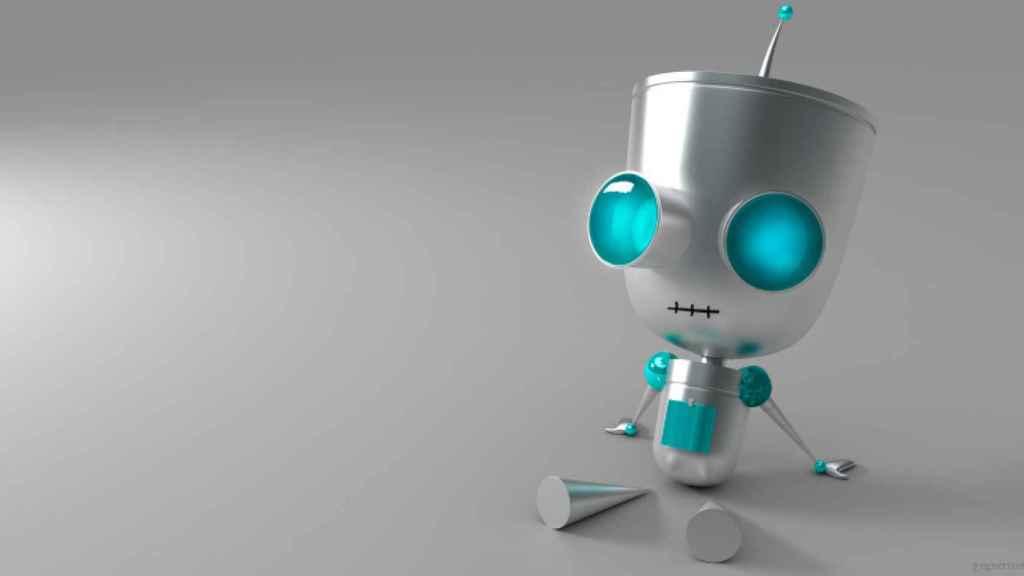 Robot pequeño.