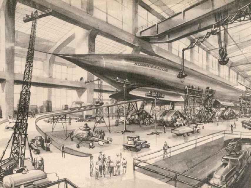 Una imagen del Cosmocrátor ideado por Stanislaw Lem.