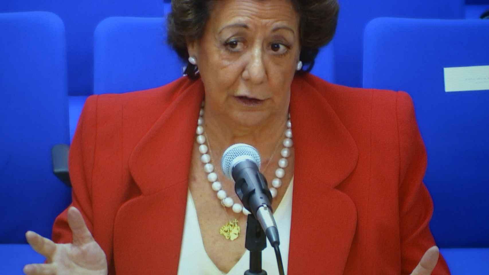 Rita Barberá declara como testigo en el juicio del caso Nóos.