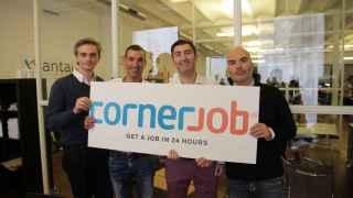 Fundadores de Cornerjob.