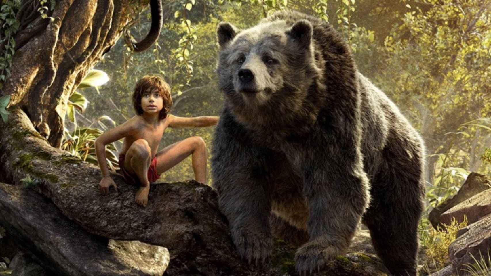 Imagen de la nueva versión de El libro de la selva.