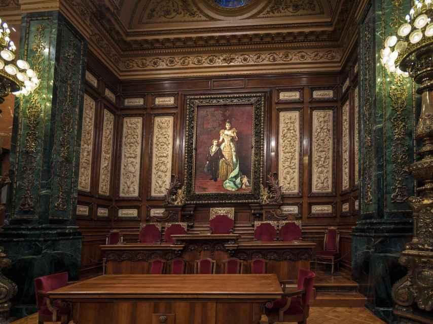 Salón de la reina regente.