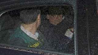 Mario Conde en el momento de su detención