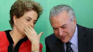 Dilma Rousseff y el vicepresidente de Brasil se han enfrentado.