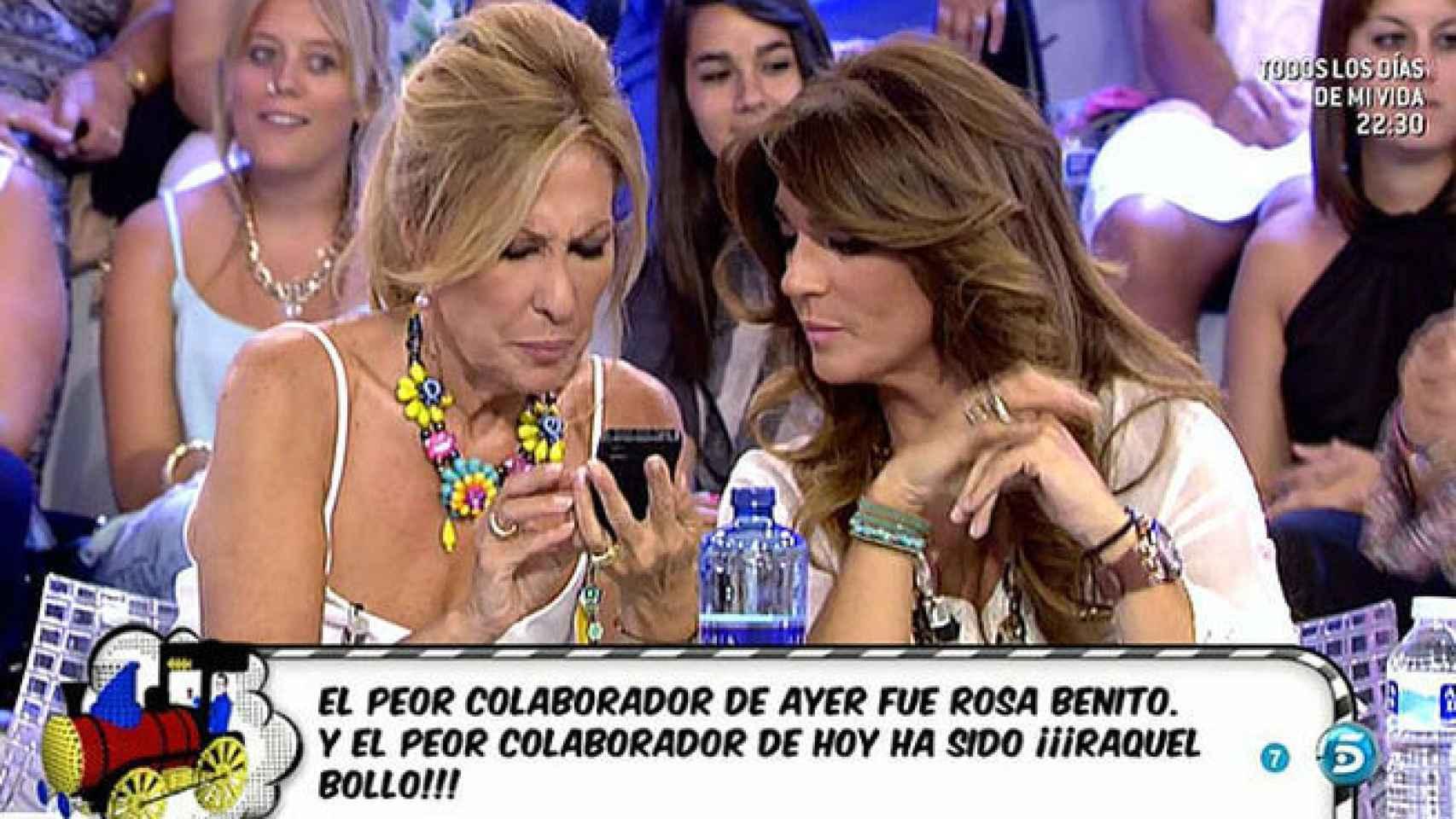 Rosa Benito y Raquel Bollo son las enemigas televisivas de Carlos Lozano