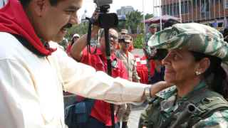 El presidente venezola, Nicolás Maduro.