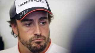 Fernando Alonso en el GP de China.