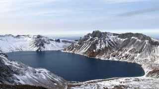 La cumbre del monte Peaktu.