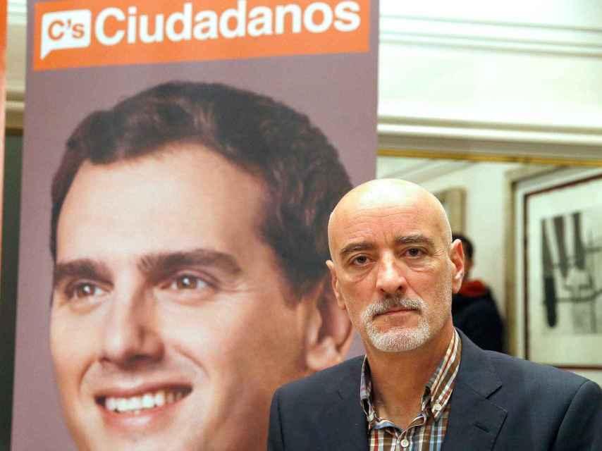 El portavoz de Ciudadanos Euskadi, Nicolás de Miguel.