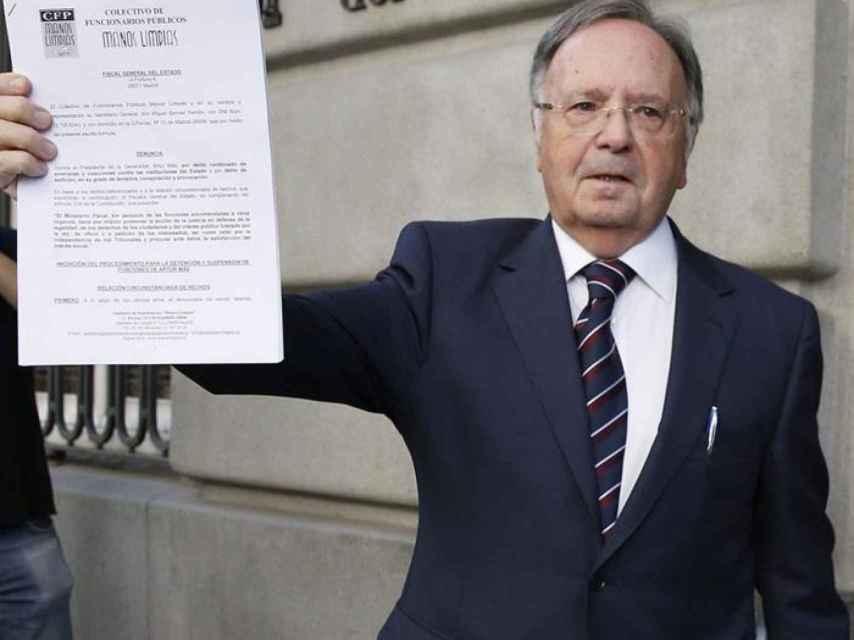 El secretario general de Manos Limpias, Miguel Bernard.
