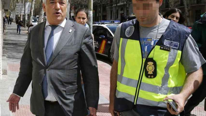 Detención del presidente de Ausbanc, Luis Pineda.