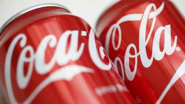 Botes de Coca-Cola.