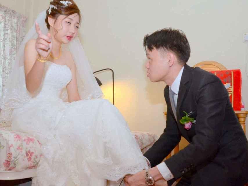 La novia captada por el peor fotógrafo de bodas del mundo