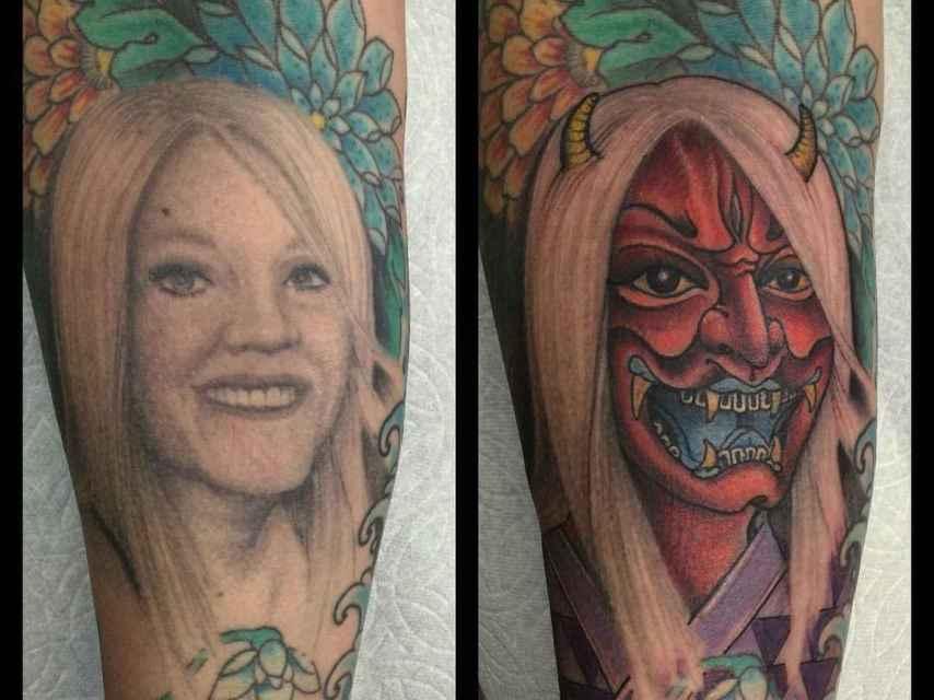 El tatuaje más despechado realizado por un estudio californiano