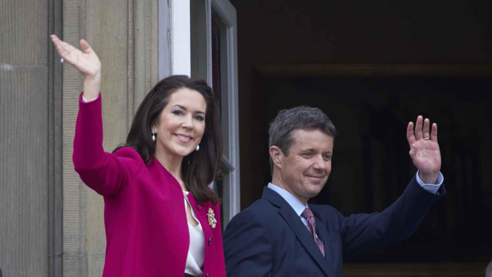 El príncipe Federico de Dinamarca y la princesa María de Dinamarca