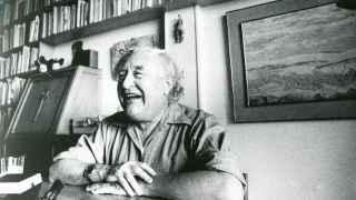 El poeta social Gabriel Celaya.
