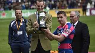 Felipe VI preside por primera vez la Copa del Rey de Rugby