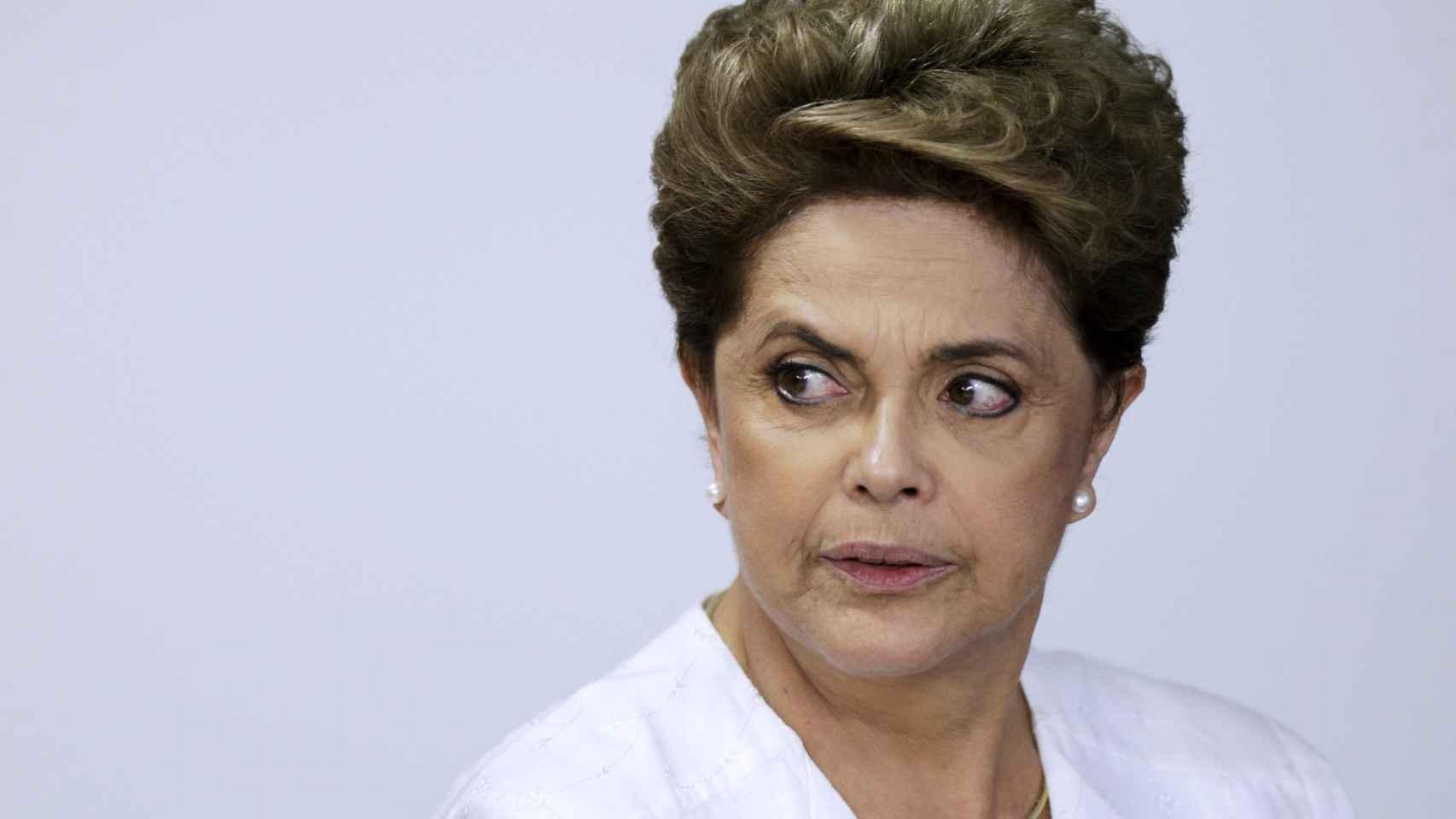 La presidenta de Brasil, Dilma Rousseff, en una imagen reciente.