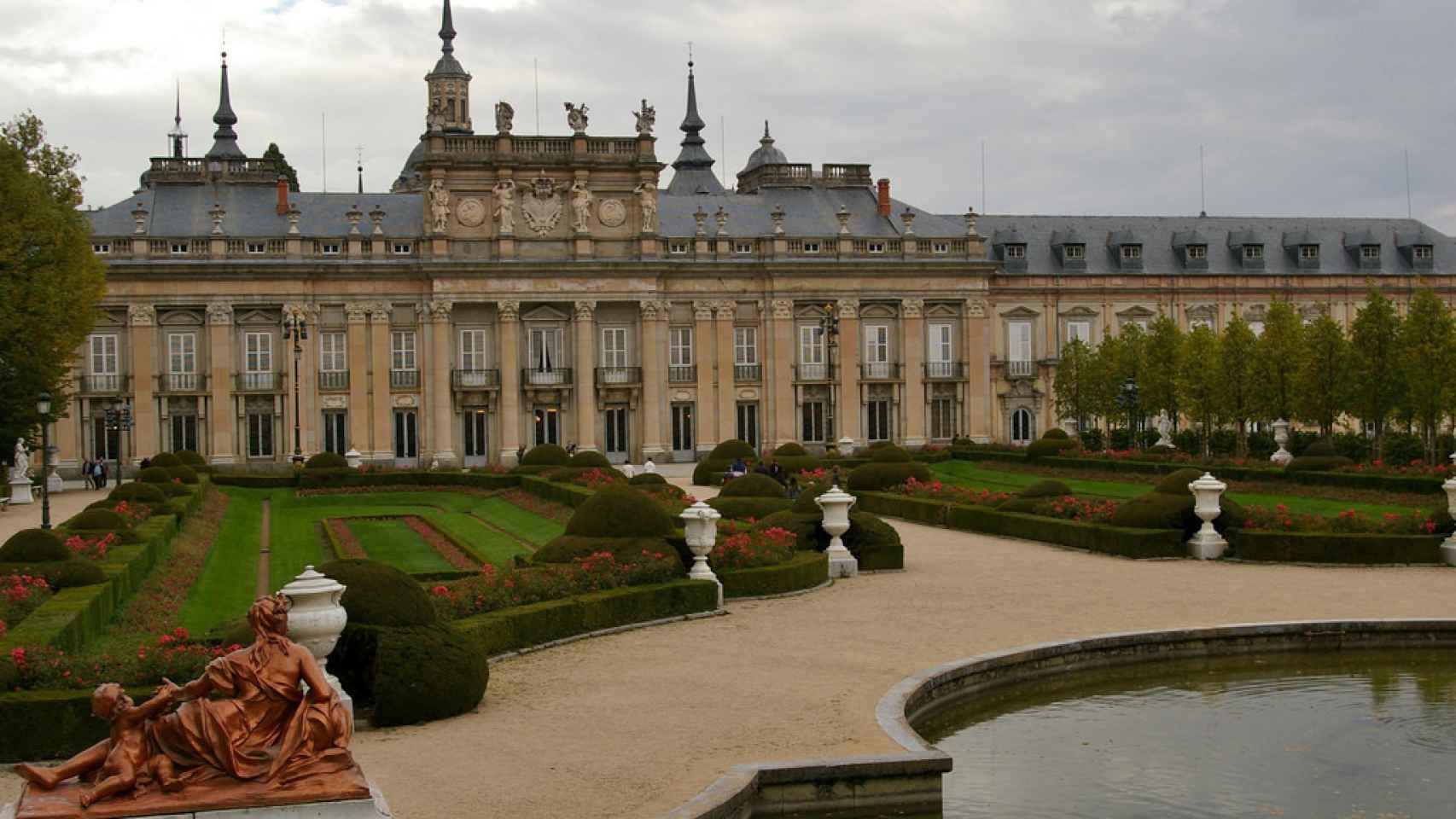 Palacio de La Granja de San Ildefonso, uno de los edificios analizados.