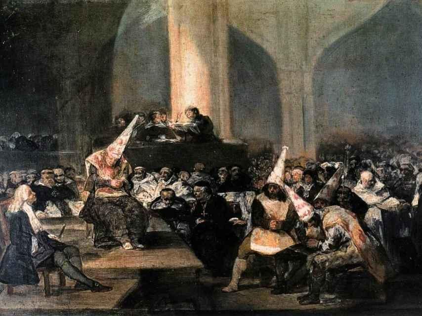 Auto de fe de la Inquisición, 1815-1819, Academia de San Fernando.