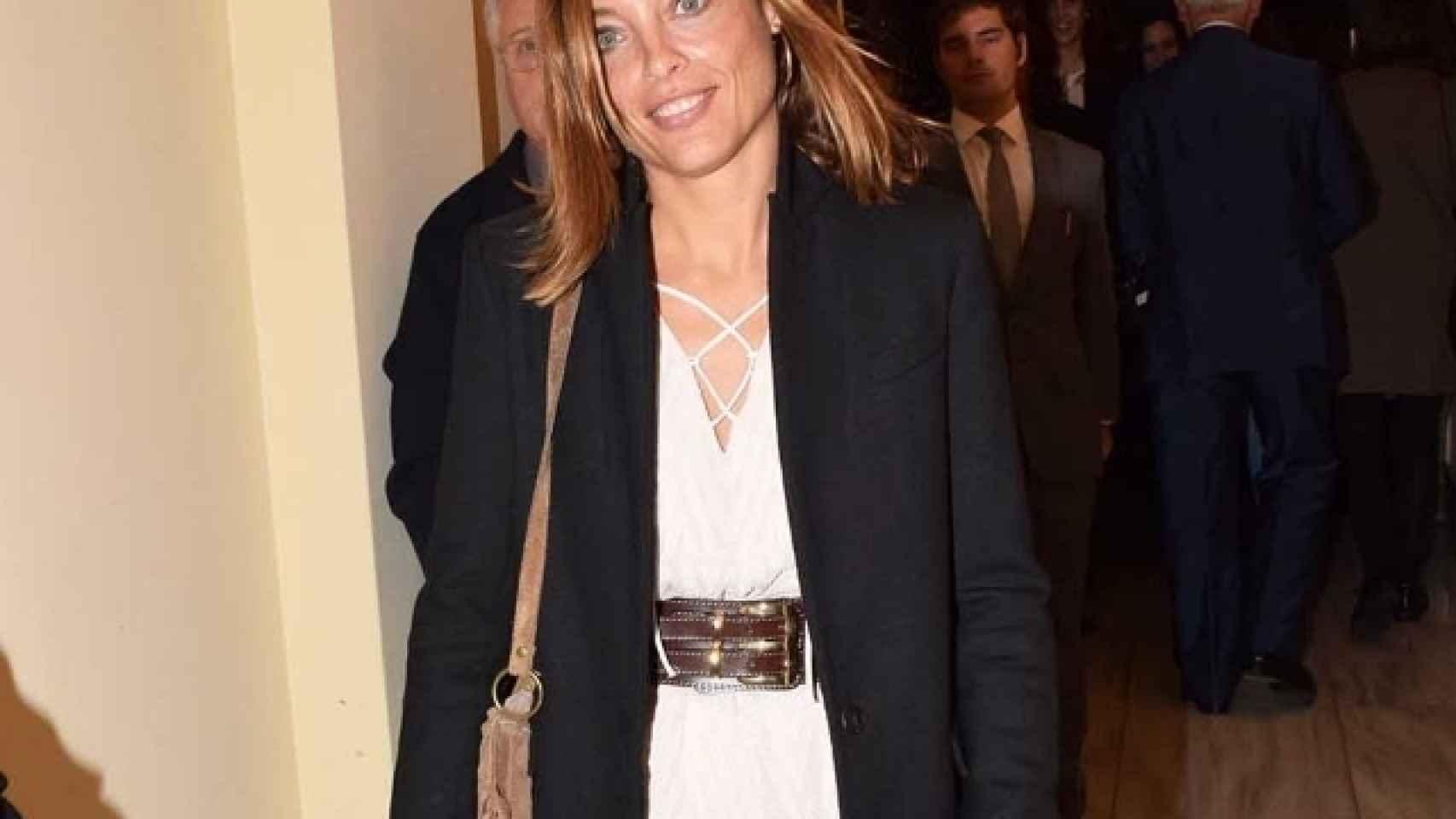 Alejandra Conde está acusada de codirigir la supuesta trama de blanqueo de su padre