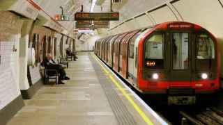 Interiore de Lancaster Gate, en el metro de Londres.