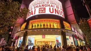 Establecimiento de Uniqlo en Shanghai, China.