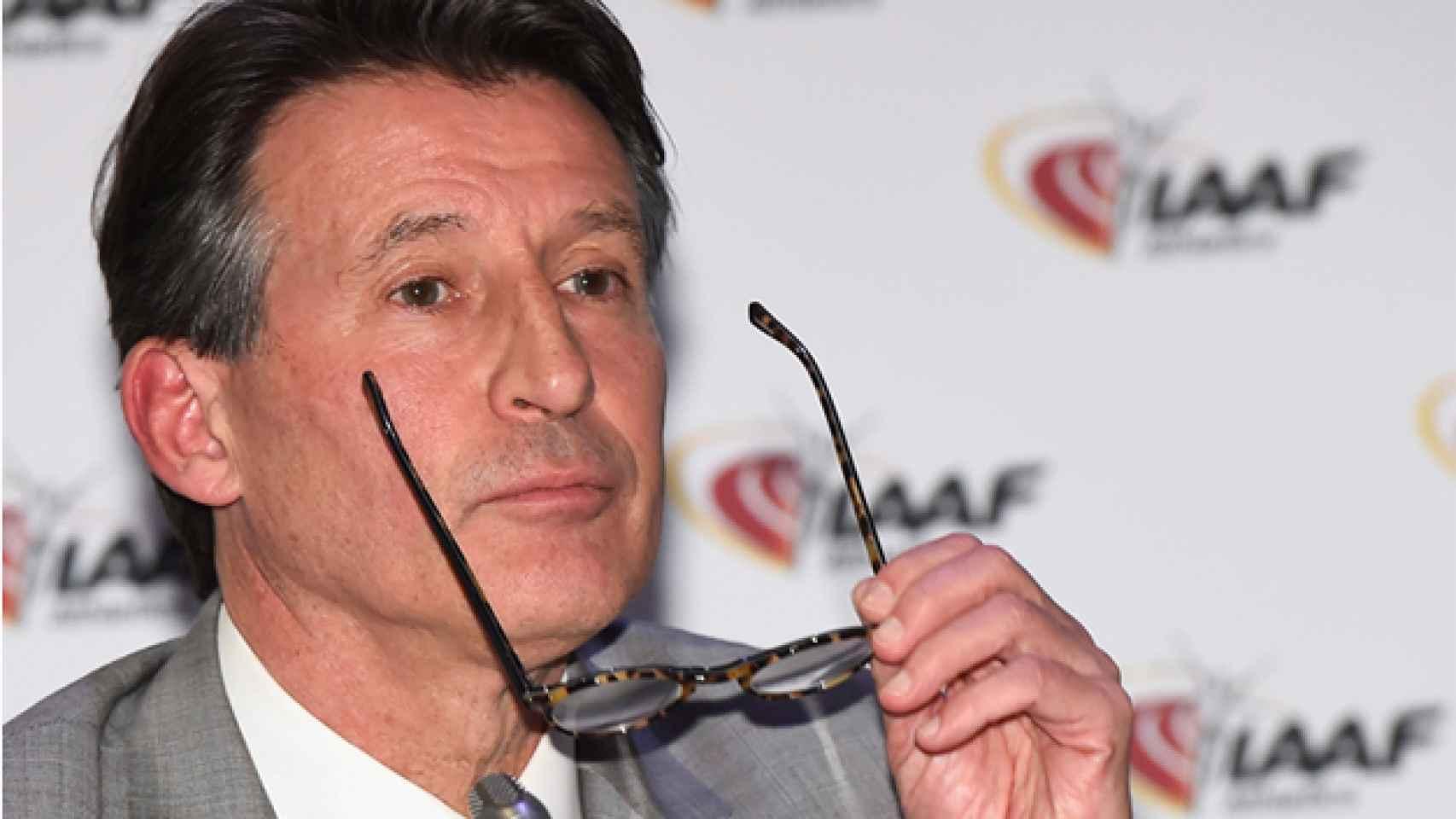 Sebastian Coe, presidente de la IAAF.