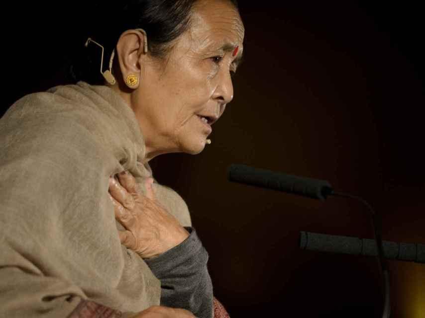 Anuradha Koirala lleva 25 años luchando contra la trata de niñas y mujeres en Nepal.