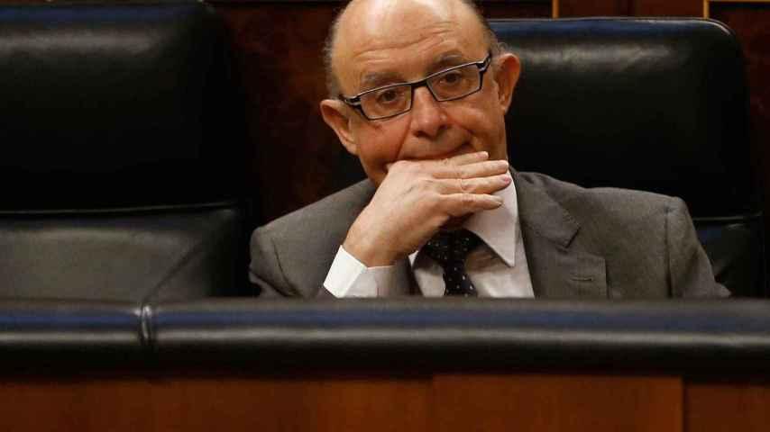 El ministro de Hacienda, Cristobal Montoro.