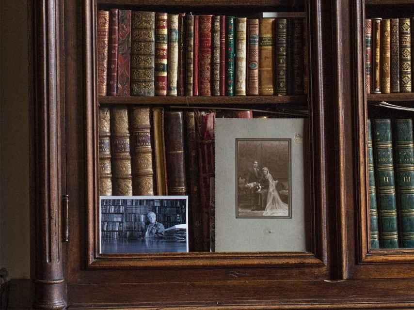 Algunos recuerdos en la librería Bardón.