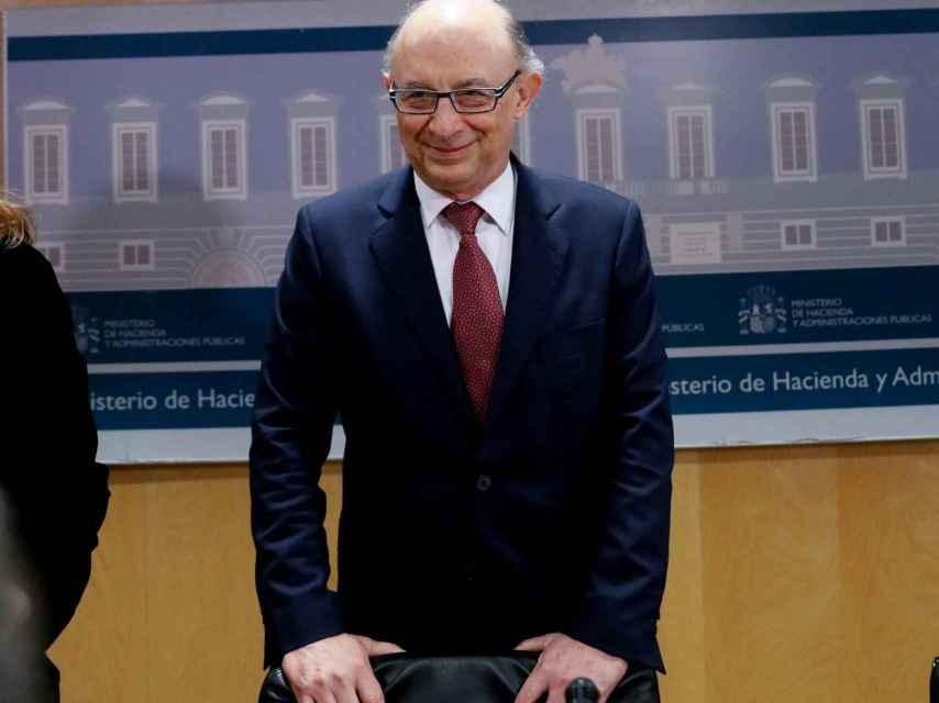 El ministro de Hacienda, Cristóbal Montoro .